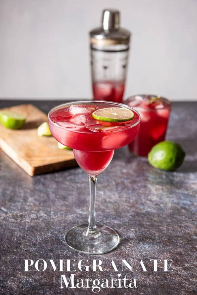 Pomegranate Margarita for Pinterest 3