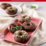 Baked Chocolate Donuts for Pinterest 2