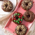 Baked Chocolate Donuts for Pinterest 6