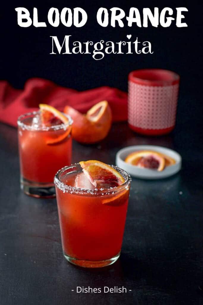 Blood Orange Margarita for Pinterest 2