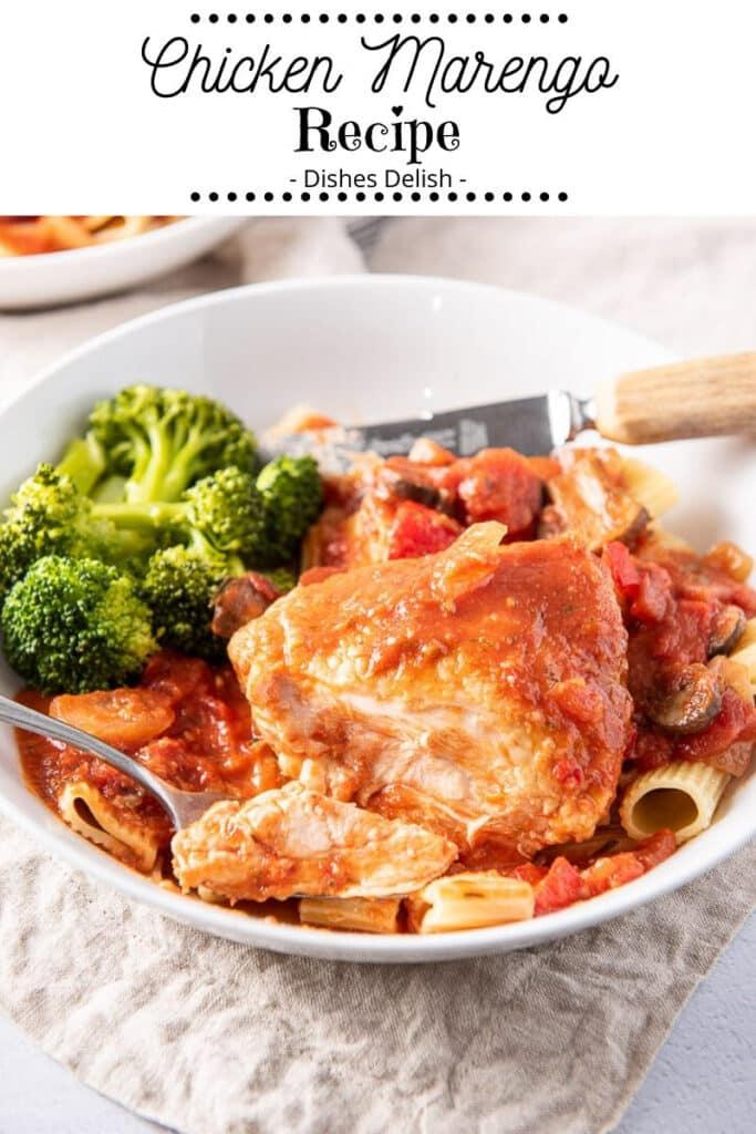 Chicken Marengo Recipe for Pinterest 2
