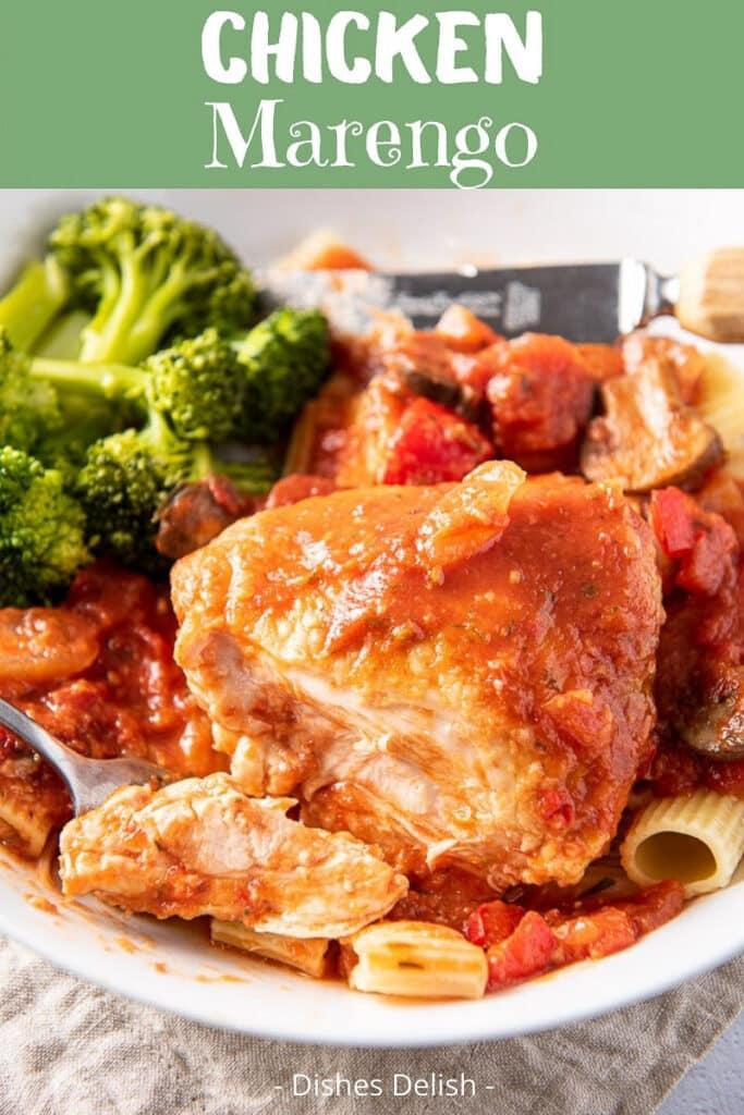 Chicken Marengo Recipe for Pinterest 3