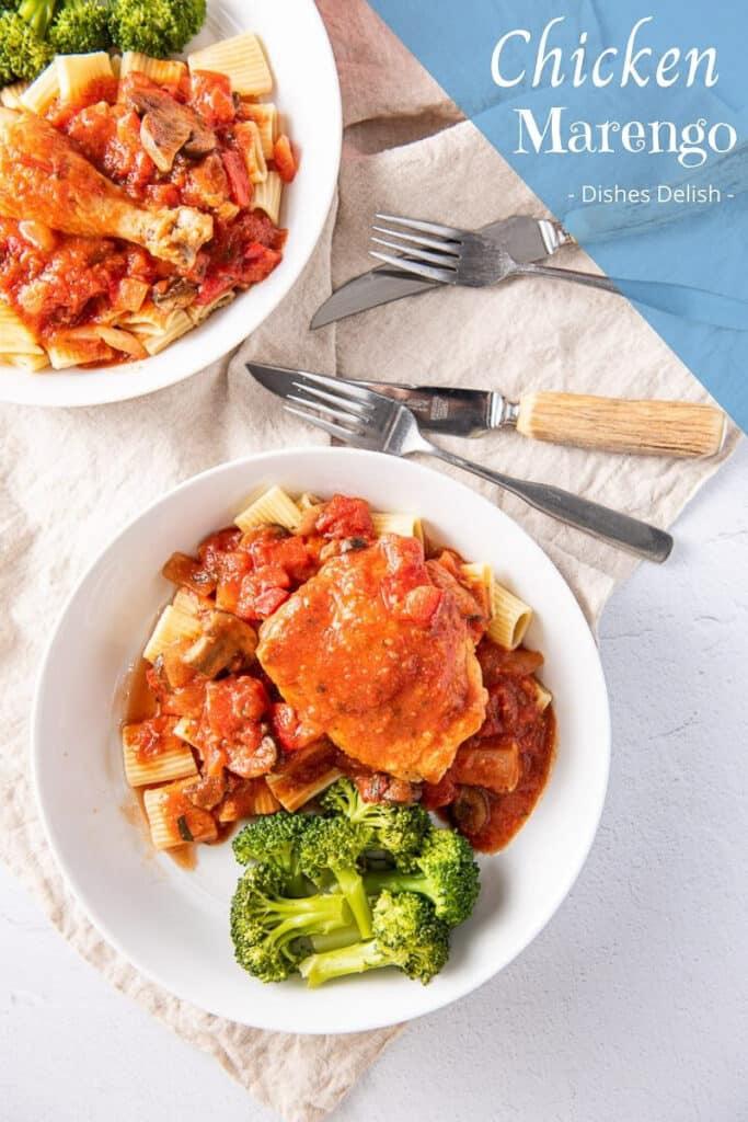 Chicken Marengo Recipe for Pinterest 4