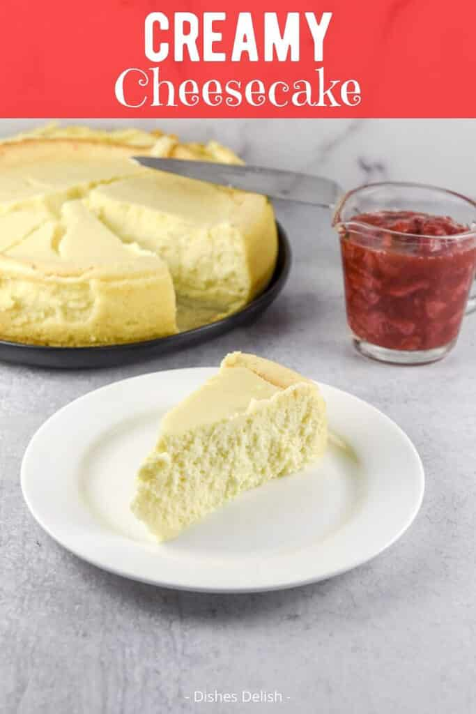 Creamy Cheesecake for Pinterest 2