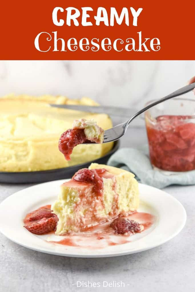 Creamy Cheesecake for Pinterest 3