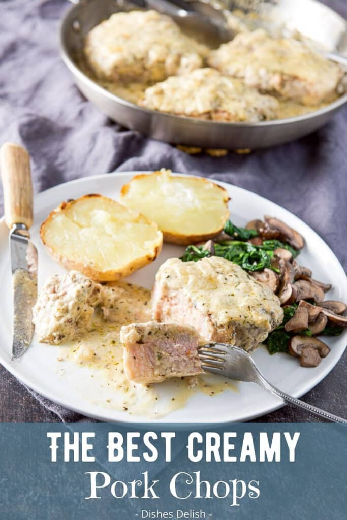 Creamy Pork Chops for Pinterest 5