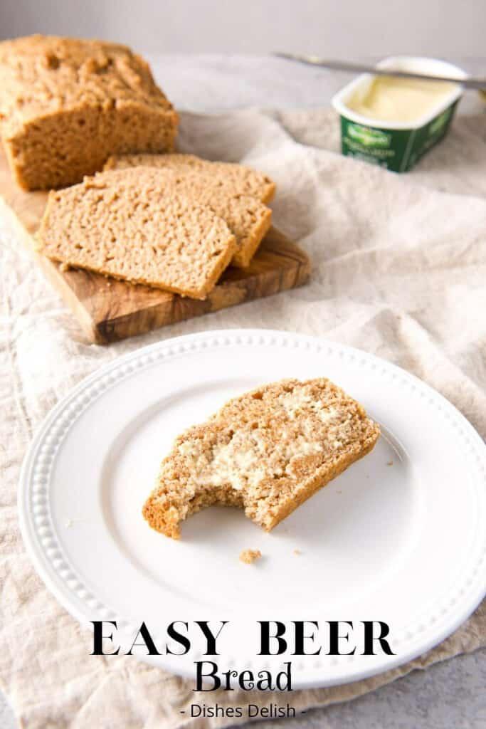 Easy Beer Bread for Pinterest 2