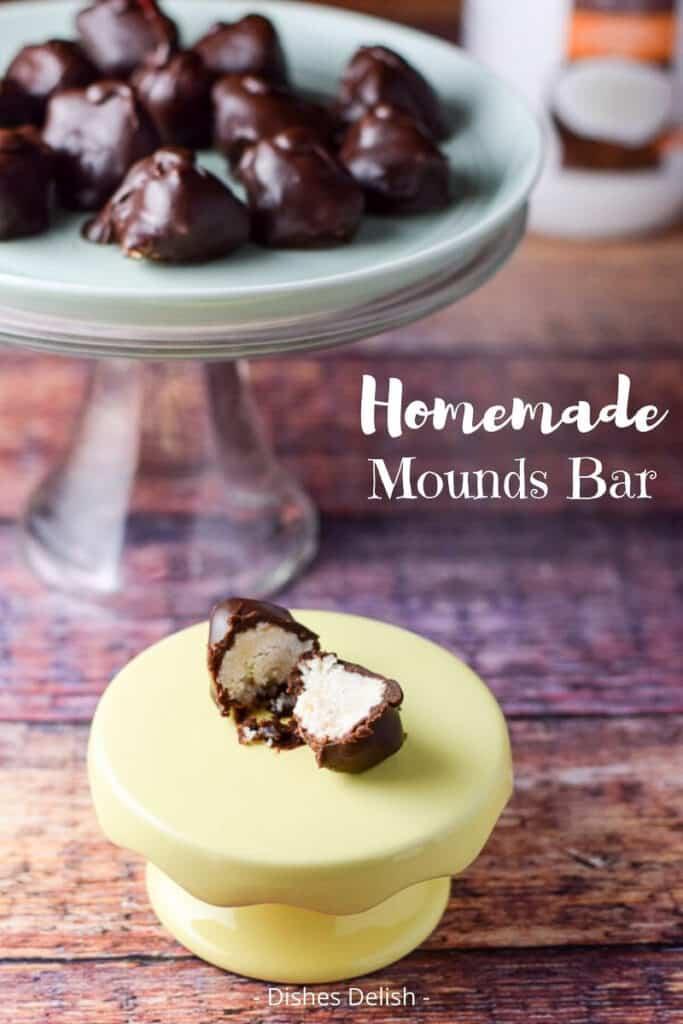 Homemade Mounds Bars for Pinterest 3