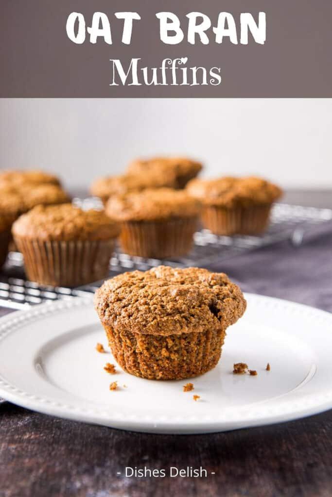 Oat Bran Muffins for Pinterest 2