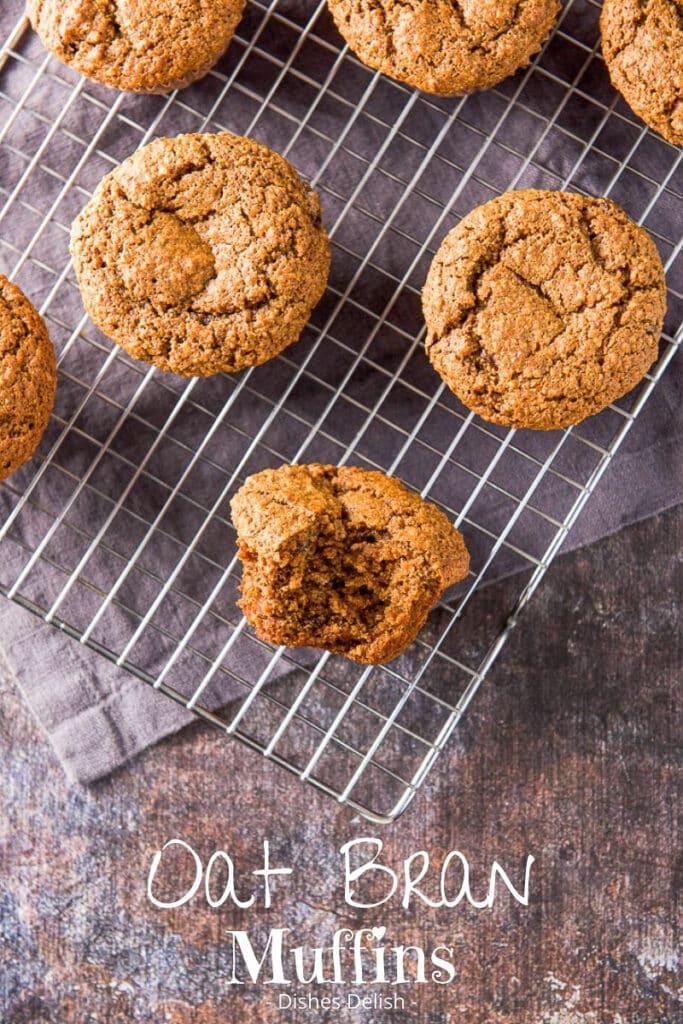 Oat Bran Muffins for Pinterest 3