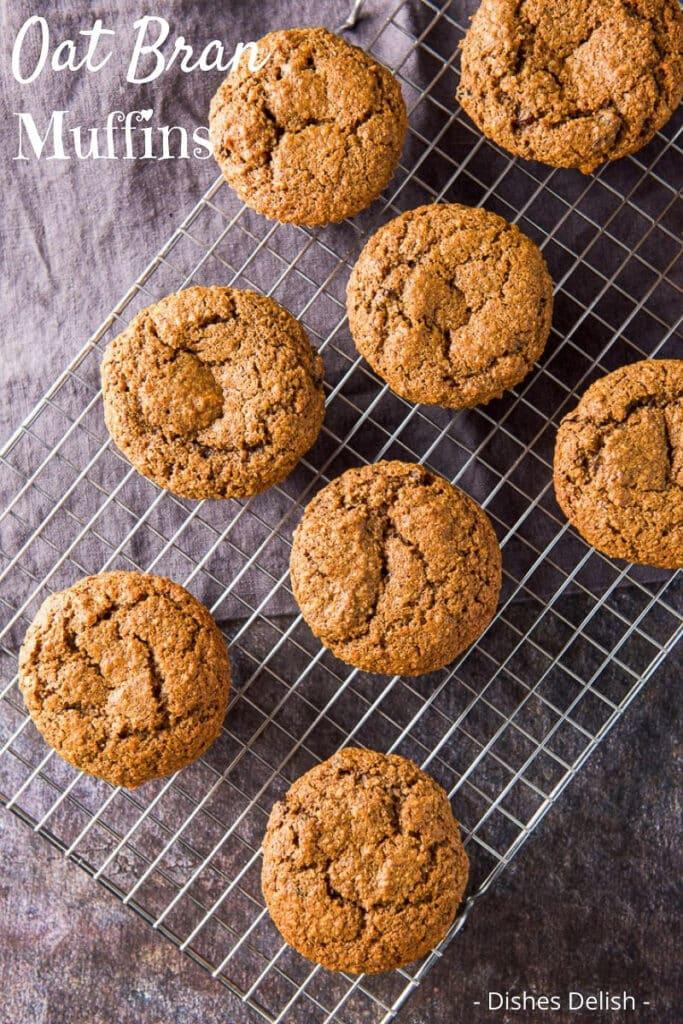 Oat Bran Muffins for Pinterest 6