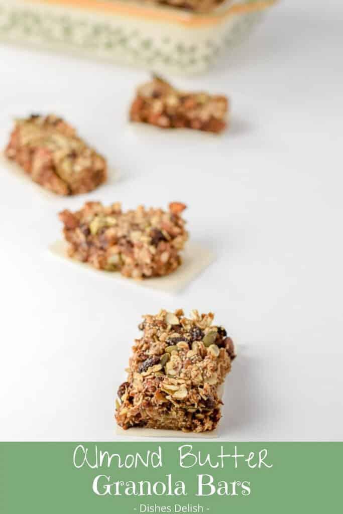 Almond Butter Granola Bars for Pinterest 3