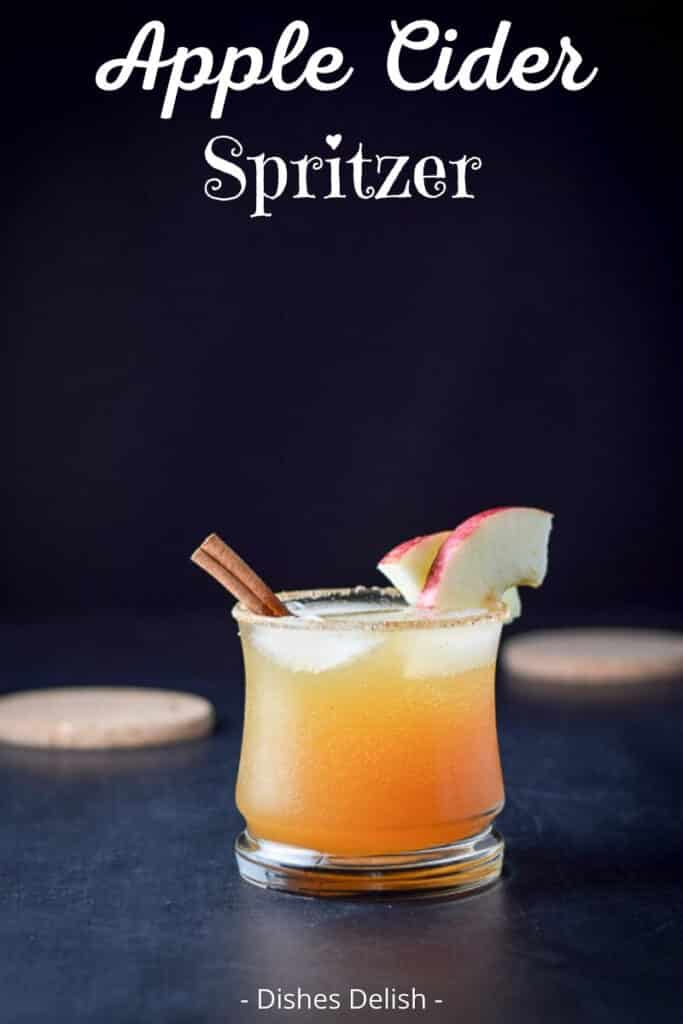 Apple Cider Spritzer for Pinterest 2