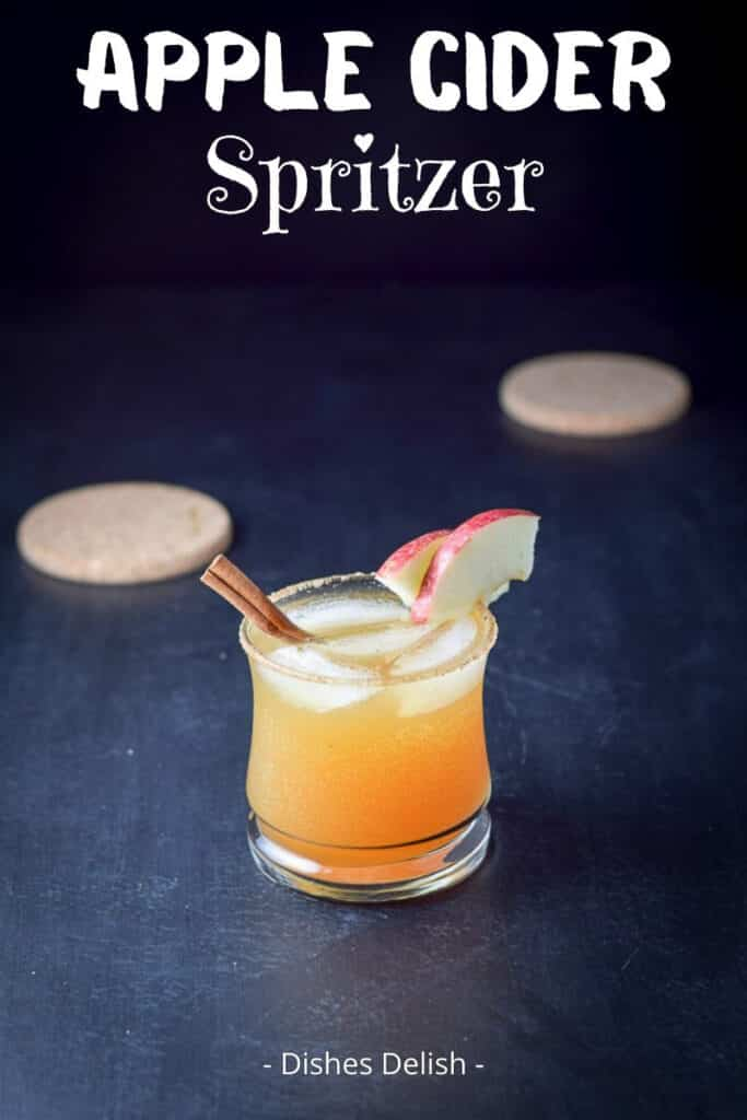 Apple Cider Spritzer for Pinterest 3