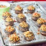 Crab Stuffed Mushrooms for Pinterest 2