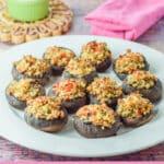 Crab Stuffed Mushrooms for Pinterest 3