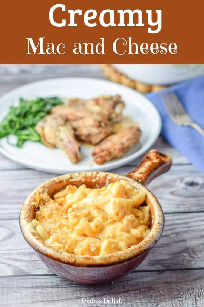 Creamy Mac and Cheese for Pinterest 3