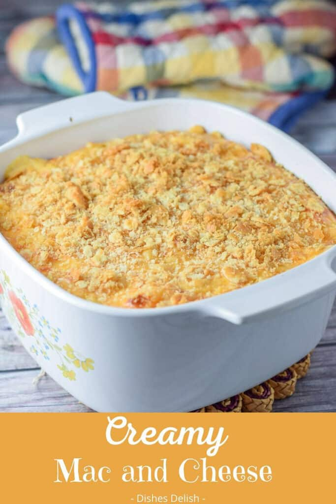 Creamy Mac and Cheese for Pinterest 4