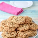 Oatmeal raisin cookies for Pinterest 5