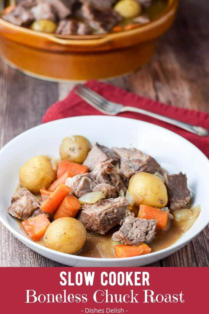 Slow Cooker Boneless Chuck Roast for Pinterest 3