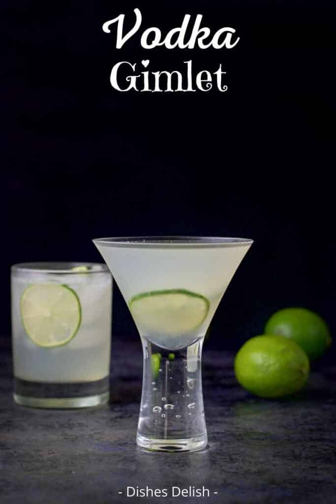 Vodka Gimlet Recipe for Pinterest 2
