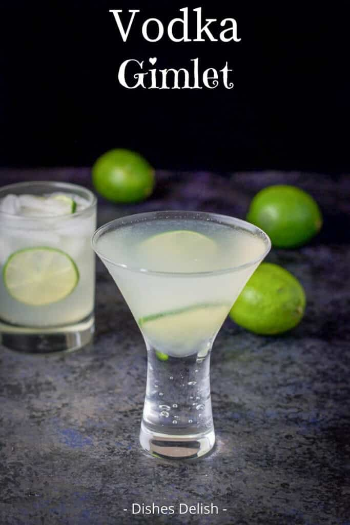 Vodka Gimlet Recipe for Pinterest 3