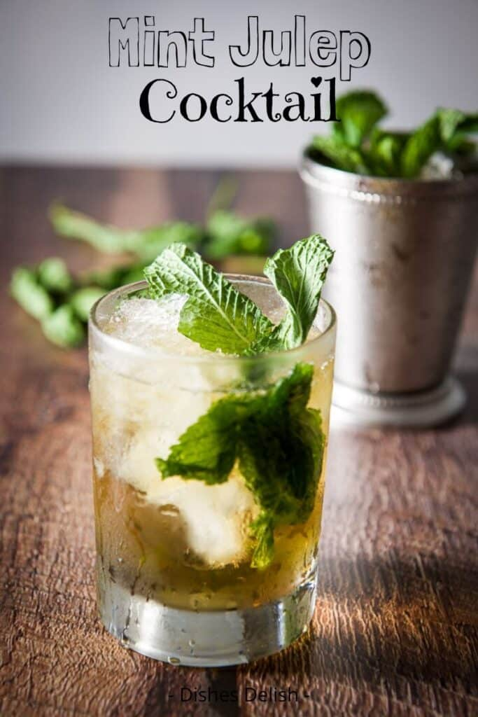 Mint Julep Cocktail for Pinterest 2