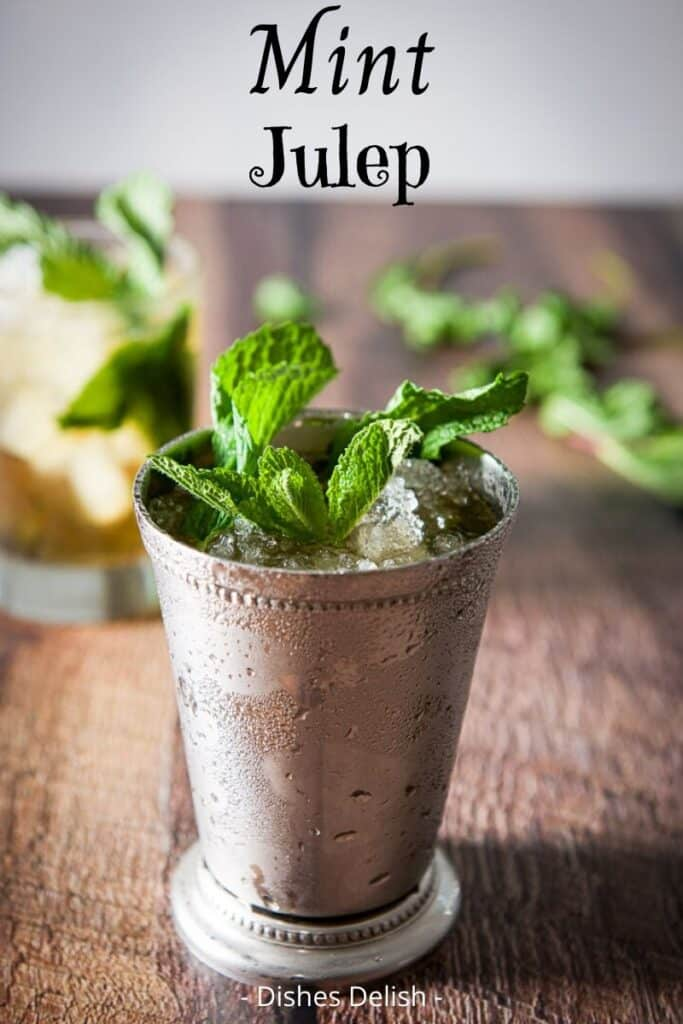 Mint Julep Cocktail for Pinterest 4