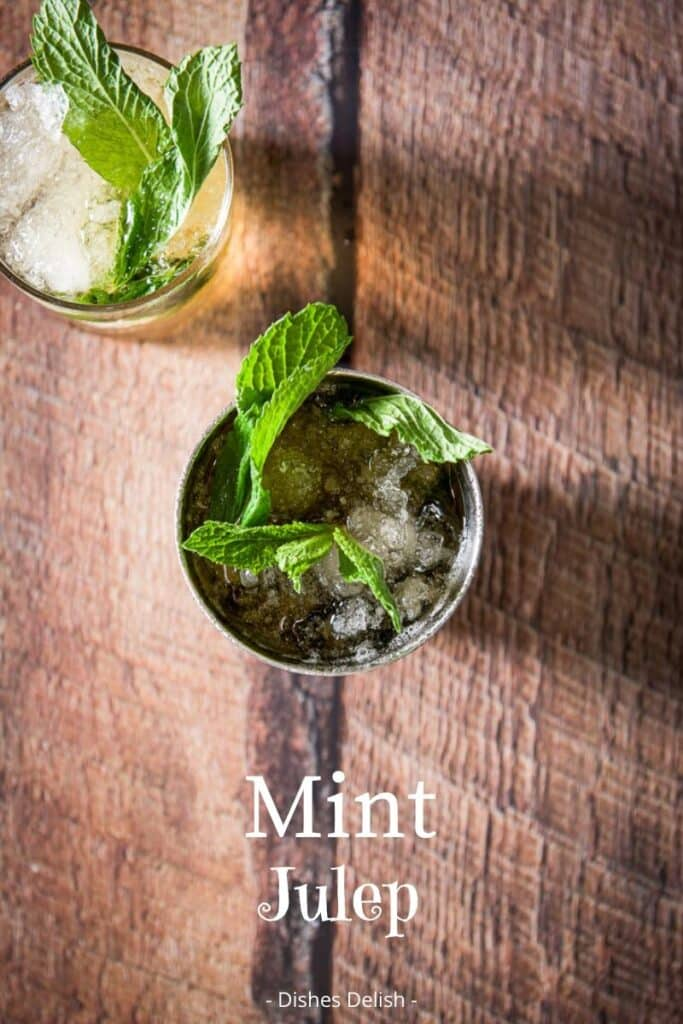 Mint Julep Cocktail for Pinterest 5