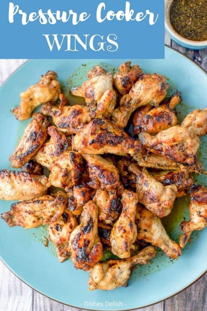 Pressure Cooker Chicken Wings for Pinterest 5