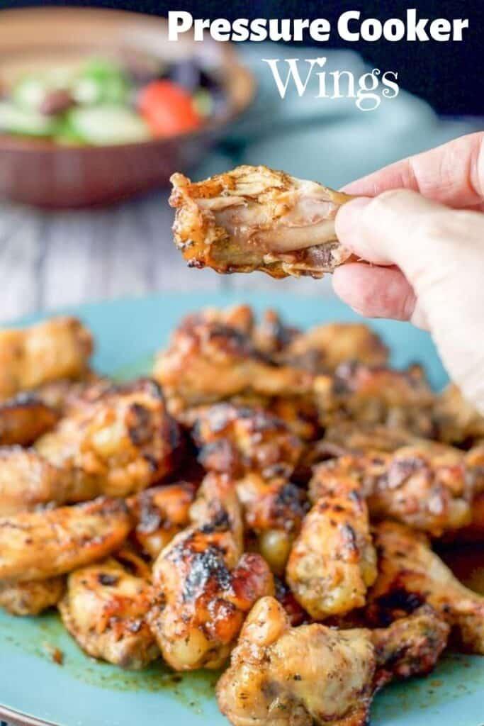 Pressure Cooker Chicken Wings for Pinterest 6
