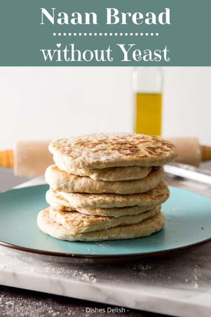 Naan Recipe without Yeast for Pinterest 1