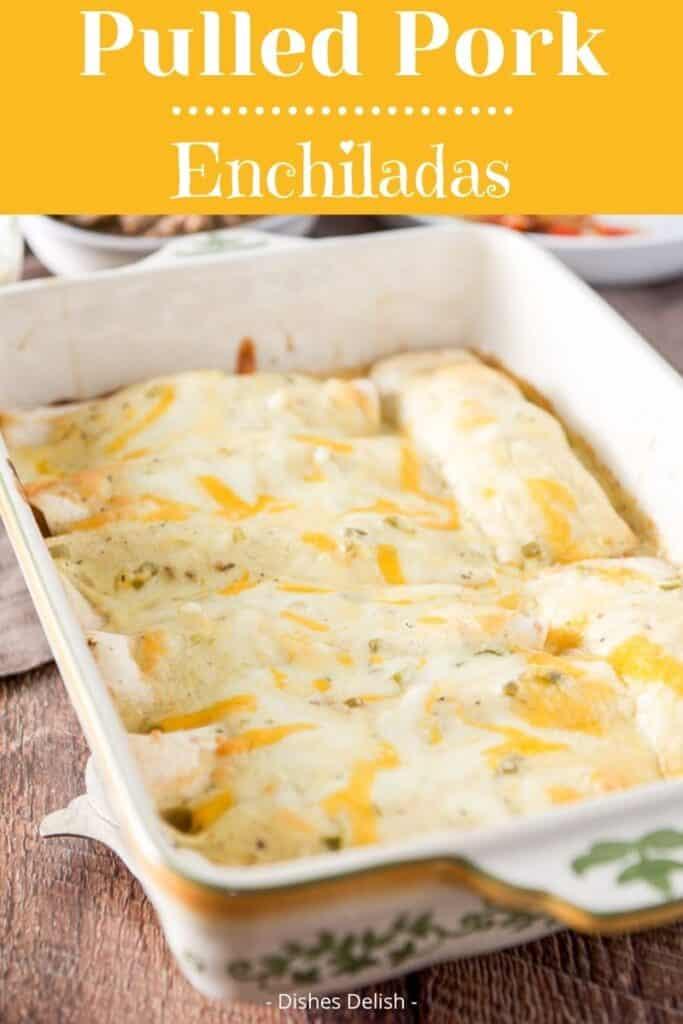 Pulled Pork Enchiladas for Pinterest 2