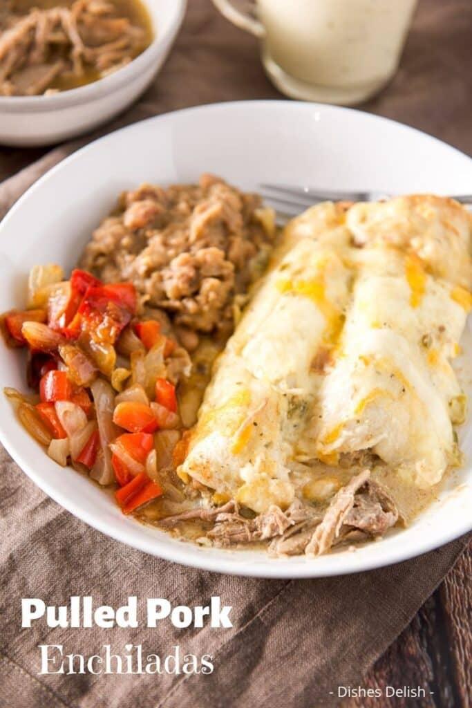 Pulled Pork Enchiladas for Pinterest 6