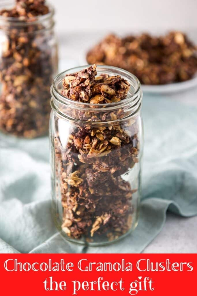 Chocolate Granola Clusters for Pinterest 1