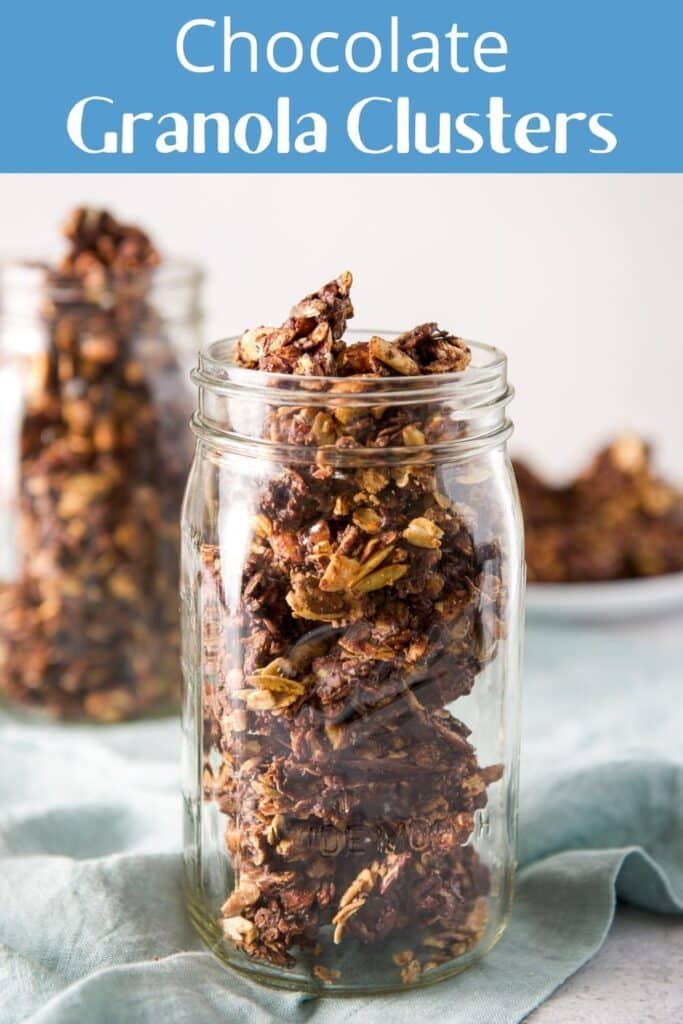 Chocolate Granola Clusters for Pinterest 4