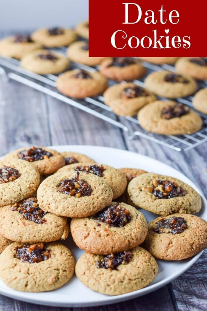 Date Nut Cookies for Pinterest 3