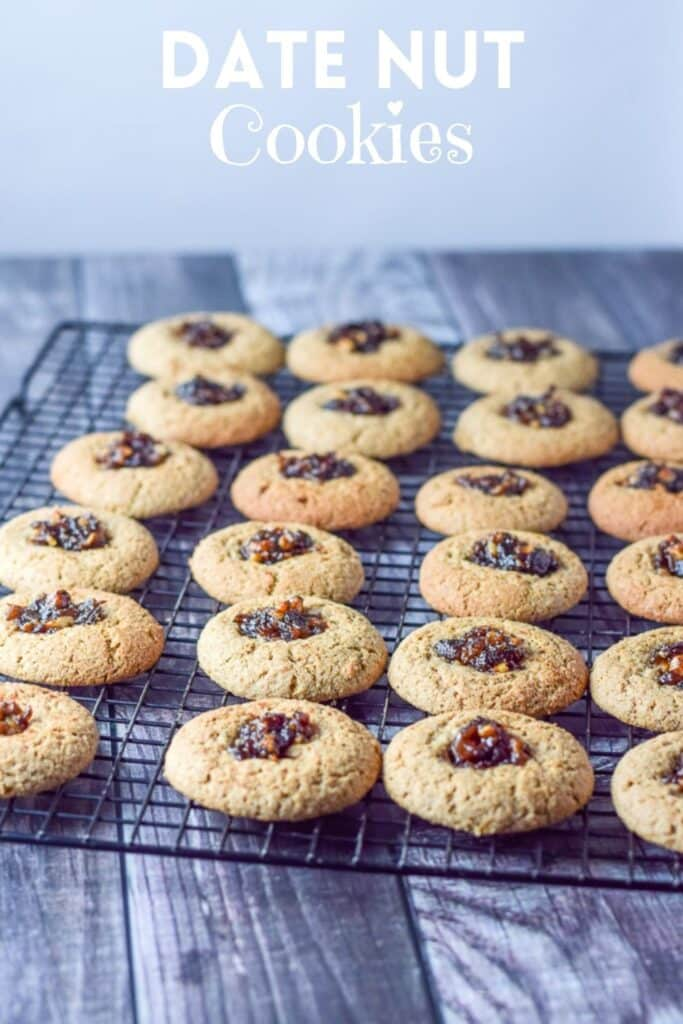 Date Nut Cookies for Pinterest 5