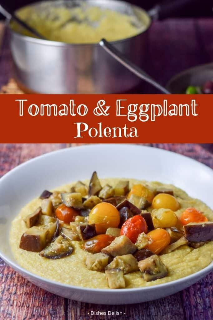 Tomato & Eggplant Polenta for Pinterest 2