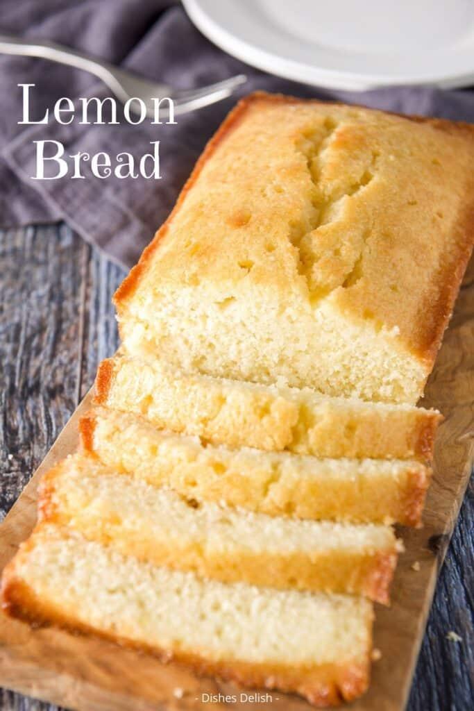 Lemon Bread Recipe for Pinterest 2