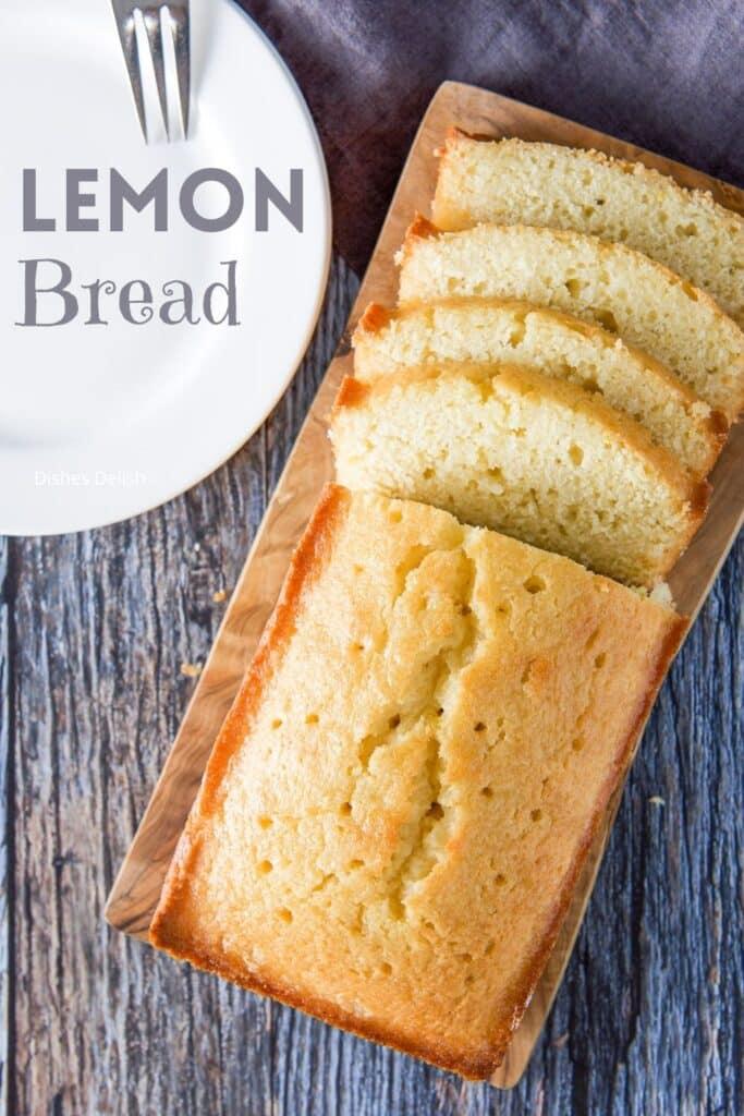 Lemon Bread Recipe for Pinterest 4