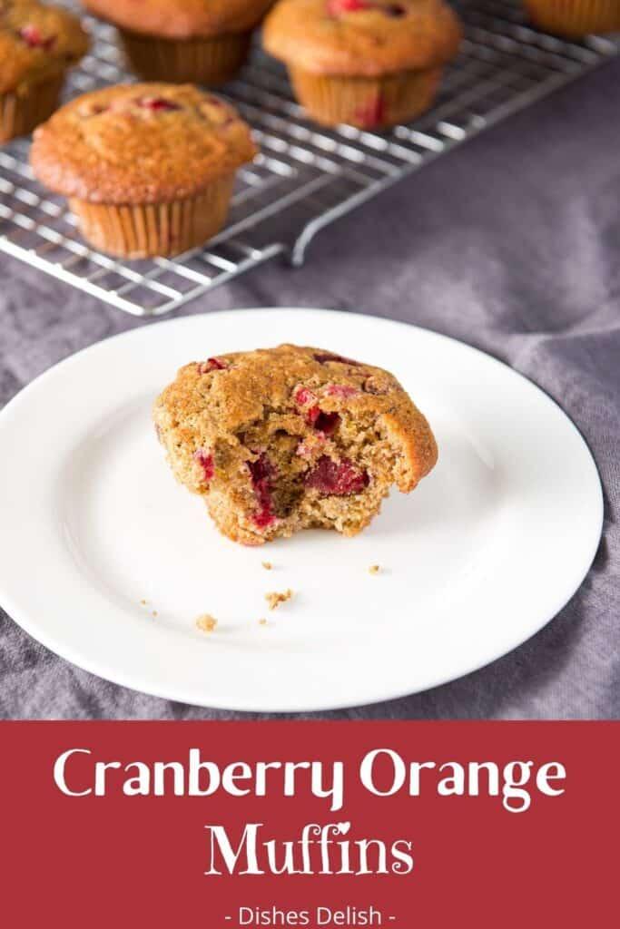 Cranberry Orange Muffins for Pinterest 2