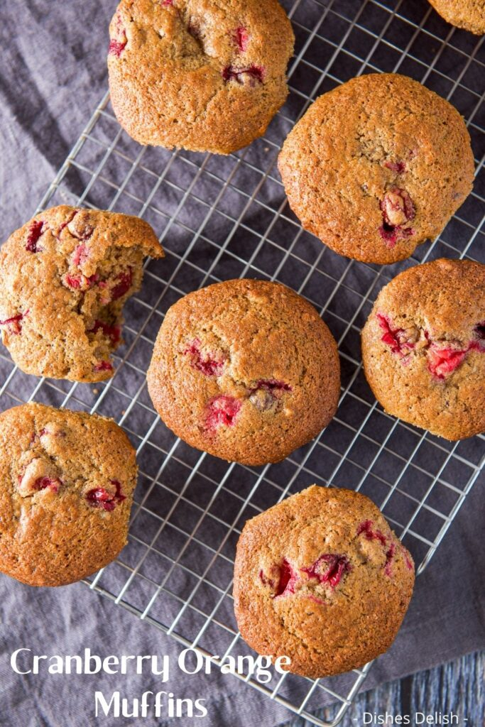 Cranberry Orange Muffins for Pinterest 4