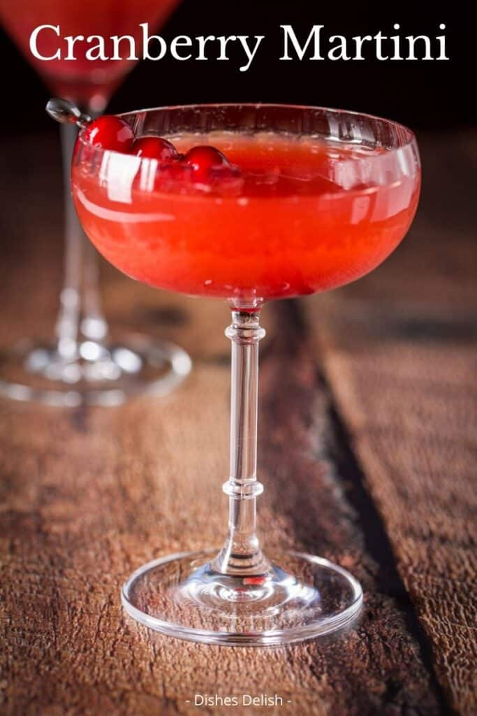 Cranberry Martini for Pinterest 1