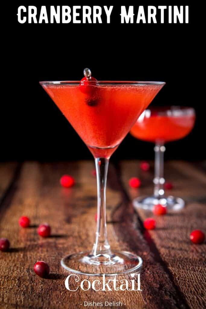 Cranberry Martini for Pinterest 2