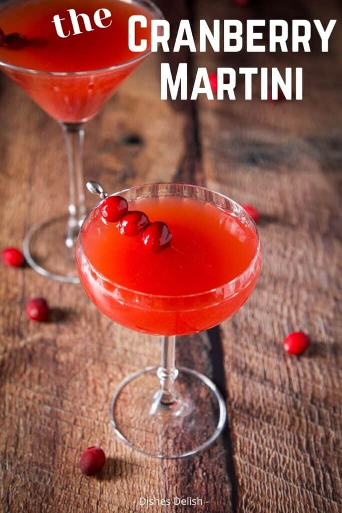 Cranberry Martini for Pinterest 3