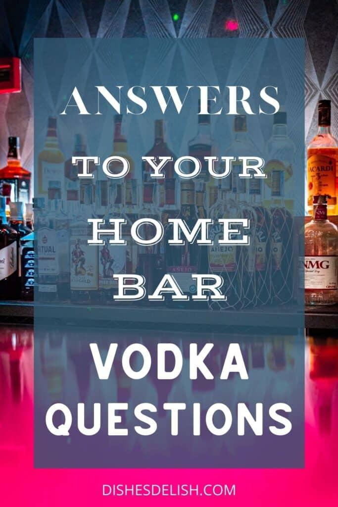 VODKA 101 | A Complete Guide To Vodka for Pinterest 3