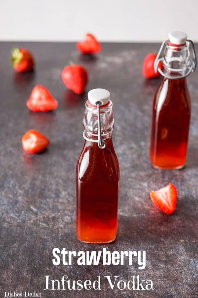 Strawberry Infused Vodka for Pinterest 2