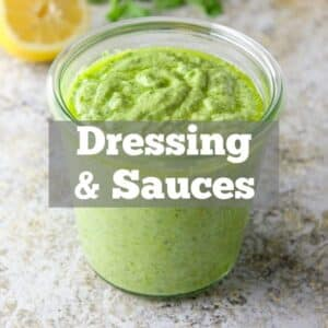 Dressings, Sauces & Spreads