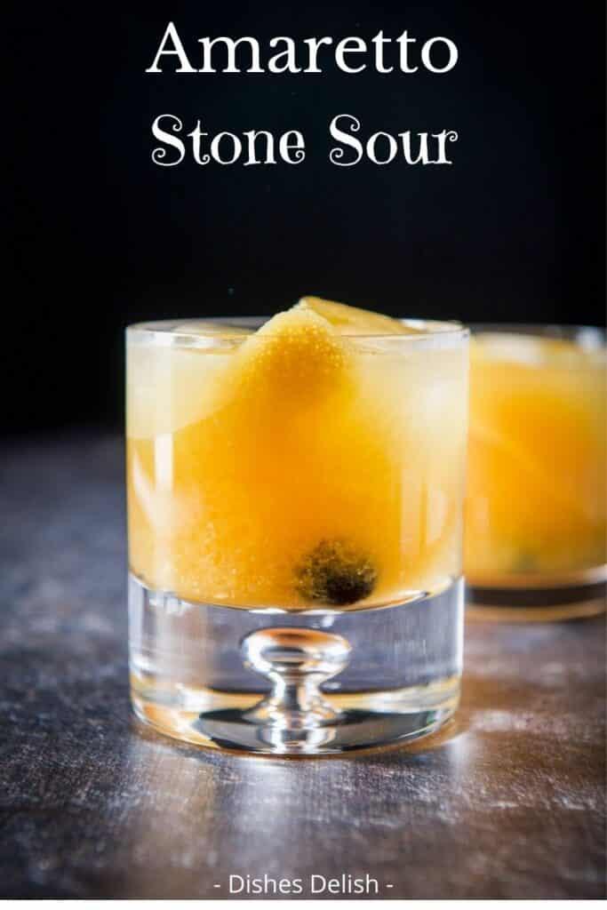 Amaretto Stone Sour for Pinterest 1